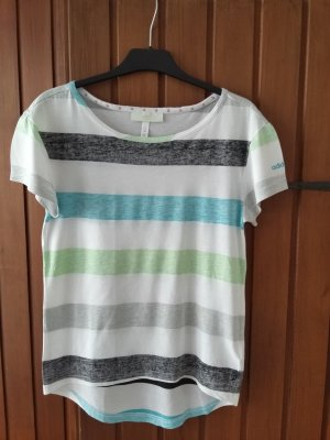 T-Shirt von adidas neo gestreift
