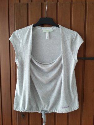 T-Shirt von adidas neo in grau