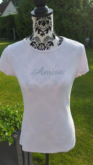 Amisu T-shirt rosé-rose clair