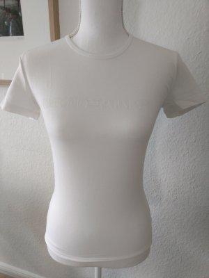 T-Shirt von Armani weiss