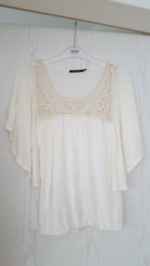 Atmosphere Camicia a tunica bianco sporco