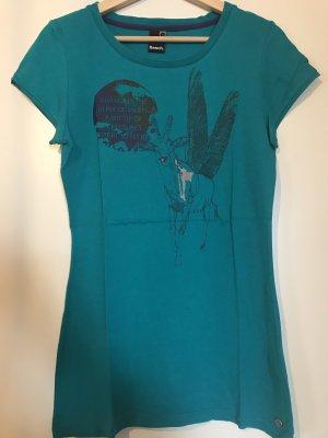 Bench T-shirt bleu pétrole