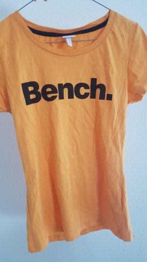 Bench Camiseta negro-naranja claro