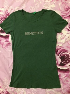 United Colors of Benetton Camiseta verde bosque