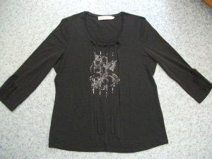 T-Shirt von BIBA mit Applikationen, Pailletten + Steinchen, Gr. 36
