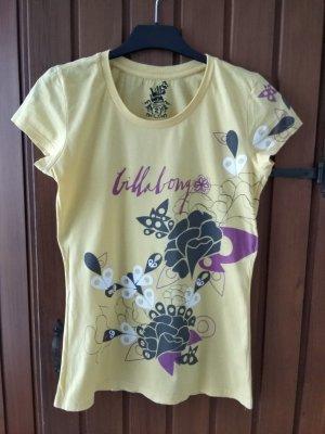 T-Shirt von Billabong in gelb