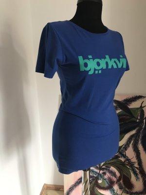 T-Shirt von Björkvin mit Logodruck