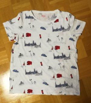 T-Shirt von Boden mit London-Print