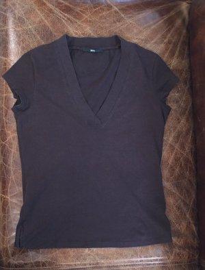 T-Shirt von Boss, braun, Größe S