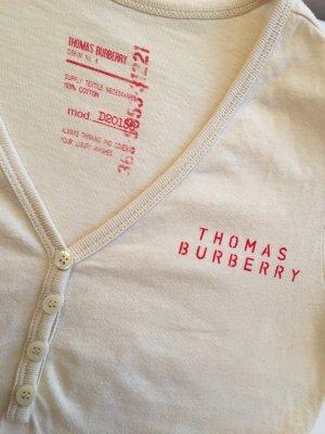 T-Shirt von Burberry mit dezentem Schriftzug