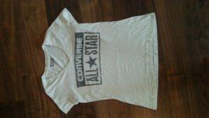 T-shirt von Converse, weiss, S