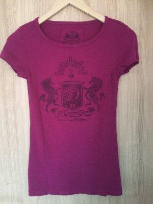T-Shirt von der Marke Tom Tailor Denim in der Farbe Aubergine