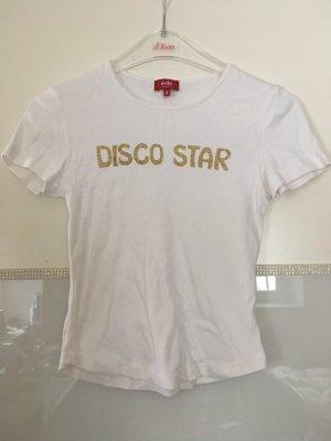 T-Shirt von edc in weiß Größe XS