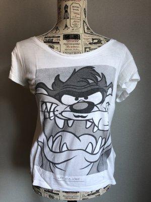 Eleven Paris T-shirt wit-zwart