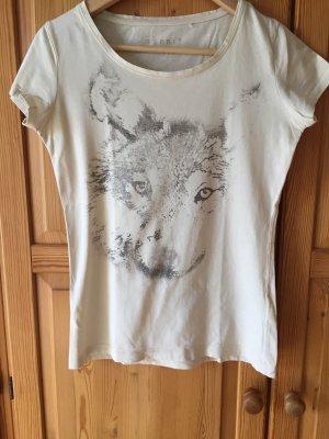 T-Shirt von Esprit mit angeschnitten Arm