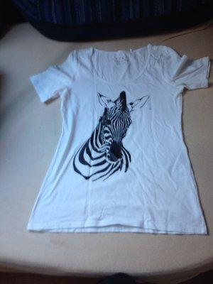 T-Shirt von Esprit mit zebramotiv