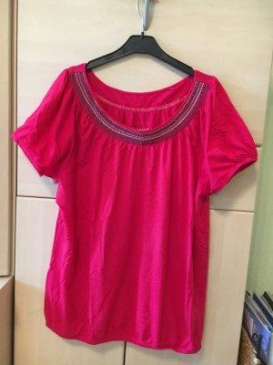 T-Shirt von ESPRIT pink
