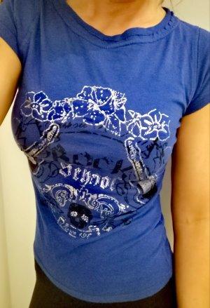 T Shirt von Forever18 Gr. XS blau