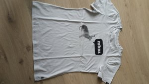 T-Shirt von Forvert Gr L grau mit Hasen-print