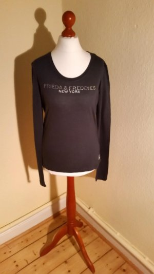 T-shirt von Frieda&Freddies, grau-blau, Gr.L, LETZTE REDUZIERUNG