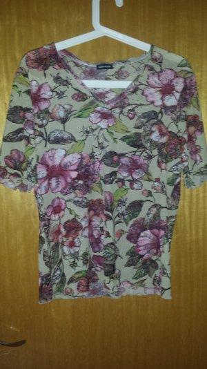 T-Shirt von Gerry Weber mit Blumenprint/ Floral Gr. 38/40
