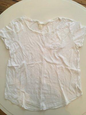 T-Shirt von H&M Baumwolle weiss Grösse M