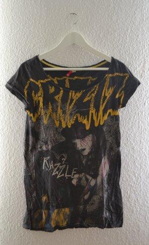 T-Shirt von H&M CRYZIZ Emo Goth Punk