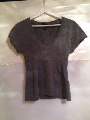 T-Shirt von H&M in grau Größe XS