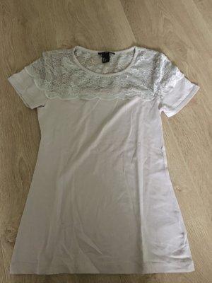 T-Shirt von H&M mit Spitze