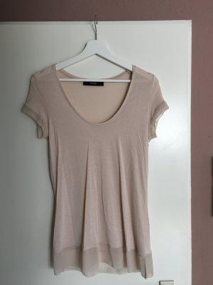 T-Shirt von Hallhuber, beige, Gr. S