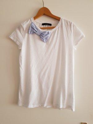 Hallhuber Shirt white-azure
