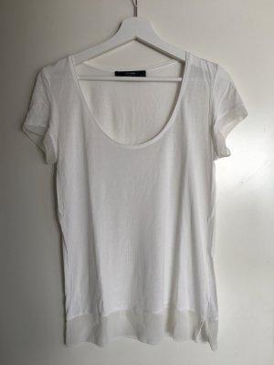 T-Shirt von Hallhuber, weiß, Gr. S