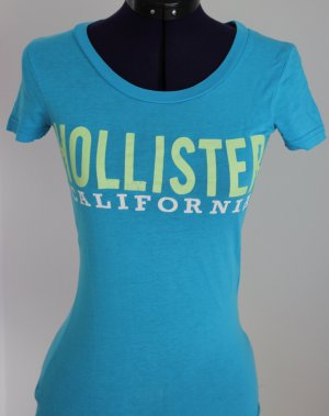 T-Shirt von Hollister in  Blau XS