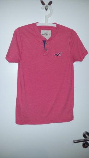 T-Shirt von Hollister in hellrot, Gr. S