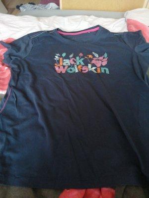 Jack Wolfskin T-shirt donkerblauw