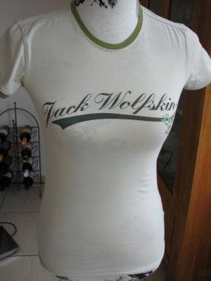 Jack Wolfskin T-shirt goud