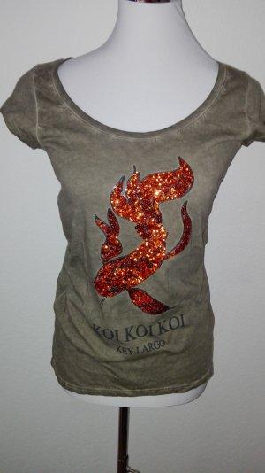T-Shirt von Key Largo Größe S