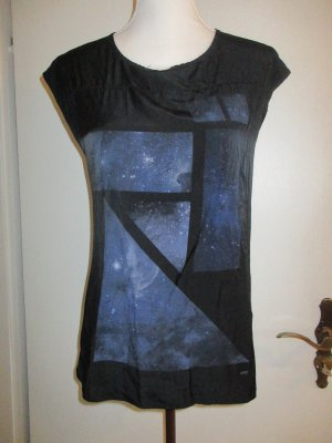 Legend Cowl-Neck Shirt black polyester