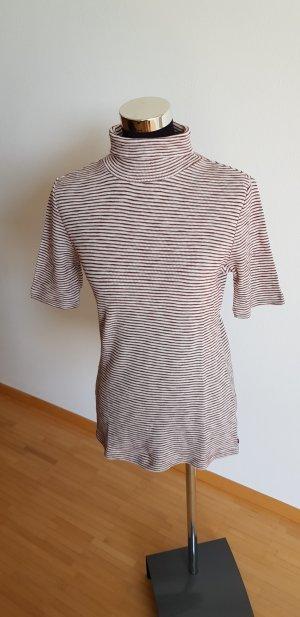 Marc O'Polo Camiseta blanco-burdeos Algodón