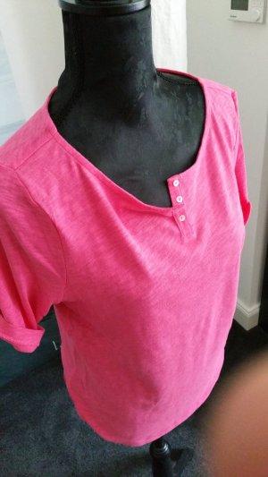 T-Shirt von Marco Polo in schönem Pink
