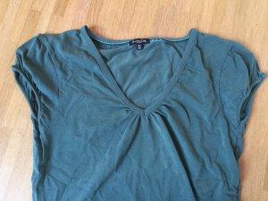 T Shirt von Massimo Dutti - Dunkel grün