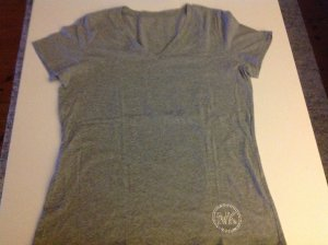 Michael Kors Camiseta color plata-gris claro Algodón