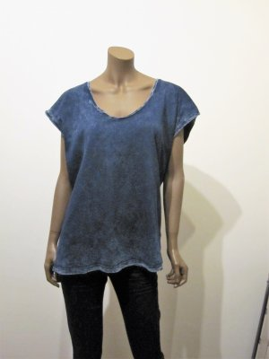 T - Shirt von Mustang, true denim, blau