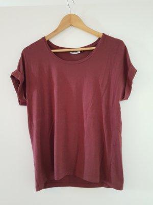 T Shirt von Only weinrot
