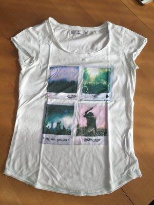 T-Shirt von ONLY weiß