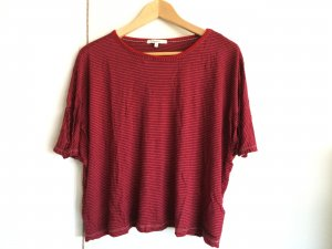 Pepe Jeans Camiseta rojo ladrillo-negro