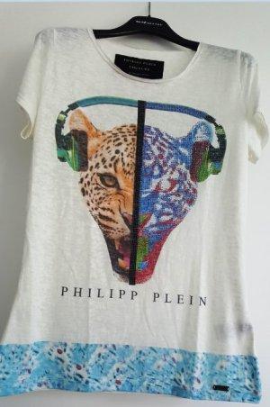 T-Shirt von Philipp Plein Couture, Limited Edition, Größe L, passt auch S-M, mit Strass, neuwertig!