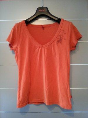 T-Shirt von QS by s.Oliver, orange, Größe L / 40