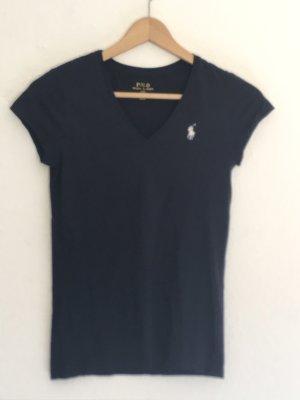 Polo Ralph Lauren V-hals shirt donkerblauw
