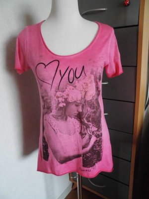 T-Shirt von Rich & Royal Gr. S (small) mit Glitzersteinchen